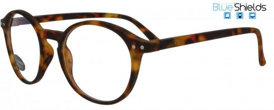 Icon Eyewear YFD214 +0.00 Ilja BlueShields bril zonder sterkte - Blauw licht filter lens - Tortoise