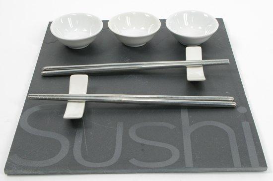 Sushi set - 29 cm x 25 cm - Grijs