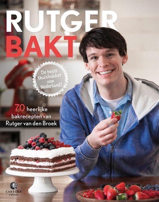 Boek cover Rutger bakt van Rutger van den Broek (Hardcover)