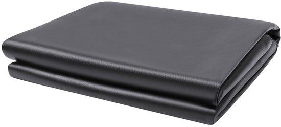 BuckShot Afdekhoes - Afdekzeil Deluxe Leder voor 7ft Pooltafel - Zwart