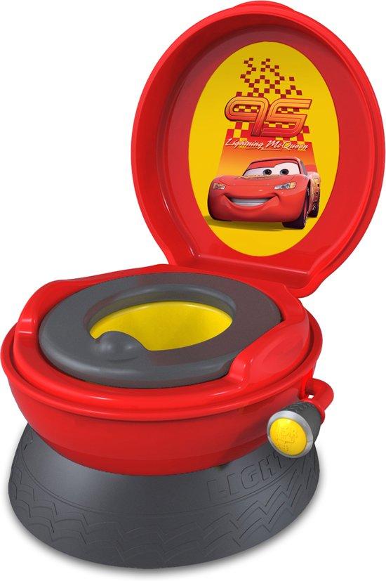 Potje En Wc Verkleiner.Disney Cars 3 In 1 Toilettrainer Potje Opstapje En Wc Verkleiner In 1