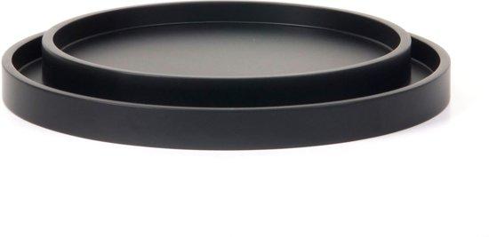 XLBoom Low Tray set/2 plateau rond coffee bean
