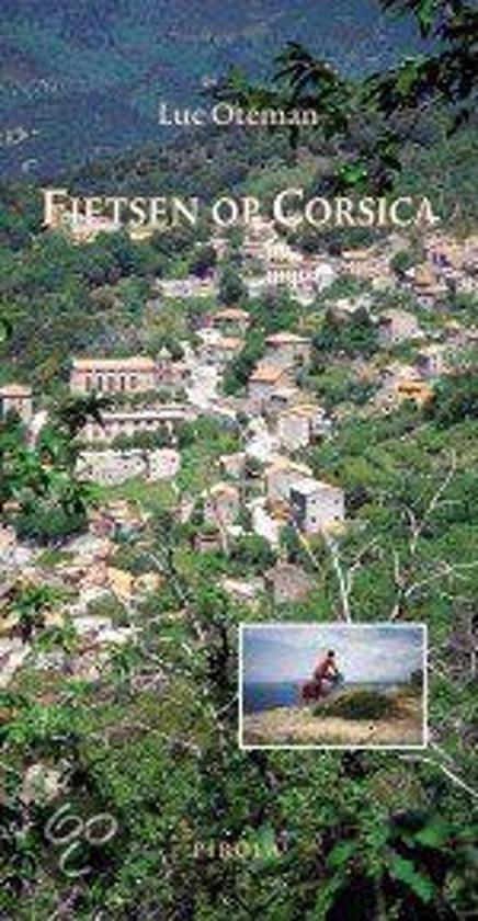 Cover van het boek 'Fietsen op Corsica'