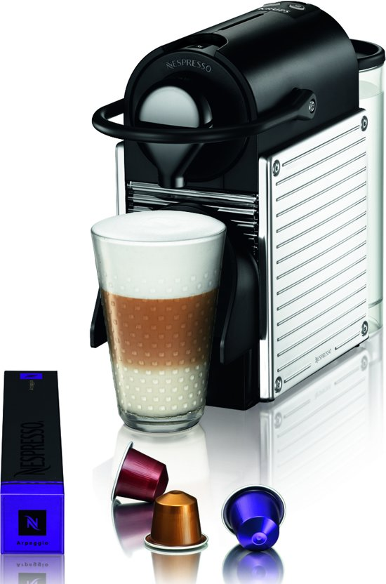 nespresso krups pixie xn300d stainless steel. Black Bedroom Furniture Sets. Home Design Ideas