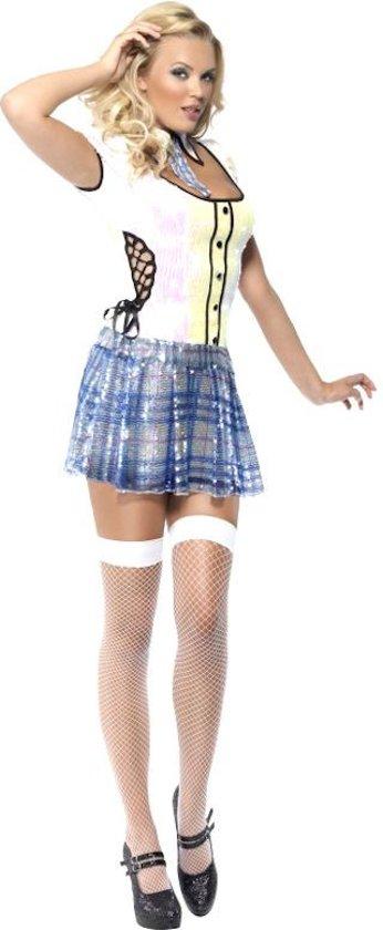 Fever Schoolgirl Bling Costume