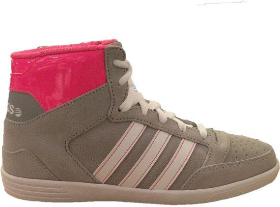 adidas schoenen grijs neon