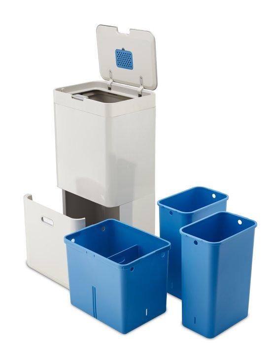 Joseph Joseph Totem 58 Liter Recycler Stone