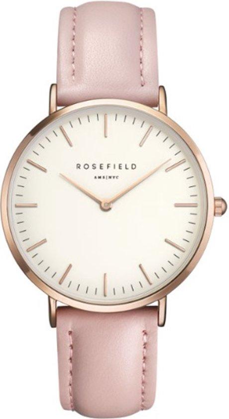 Verwonderlijk bol.com | Rosefield rosegoudkleurig horloge met lichtroze PD-65