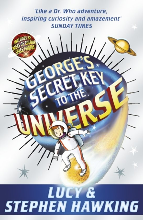 Boek cover Georges Secret Key to the Universe van Lucy Hawking (Paperback)