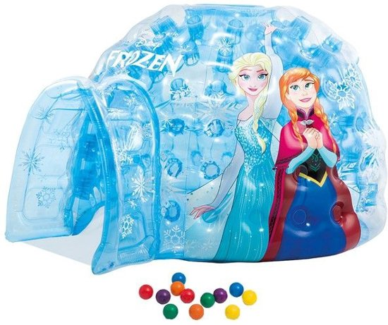 Intex 48670 - Disney Frozen - Opblaasbare iglo/ballenbak