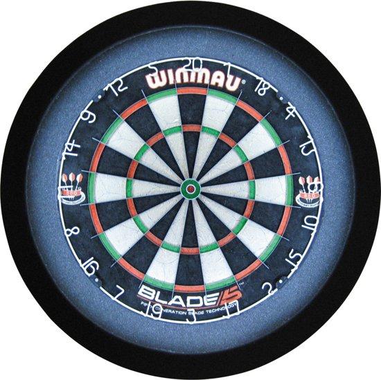 GrandSlam dartbord led-lighting zwart