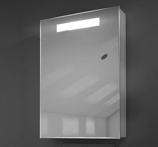 bol.com | Toilet of badkamer kastje met verlichting en stopcontact 50 cm
