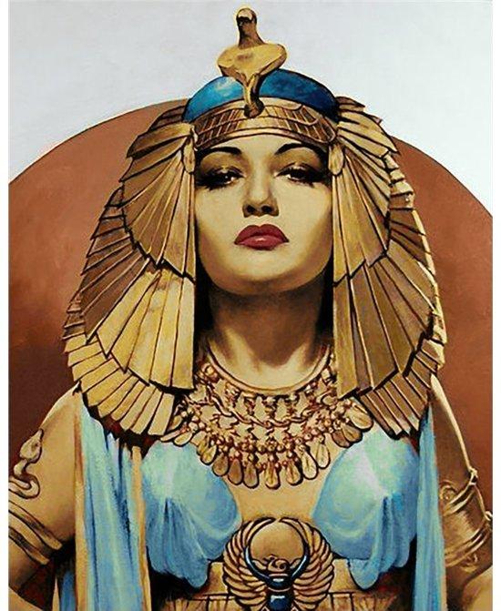 bol.com | Wizardi Diamond Painting Cleopatra WD137