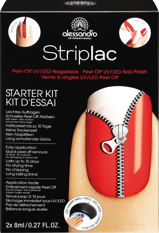 Alessandro Striplac Starter kit Rode Gel nagellak