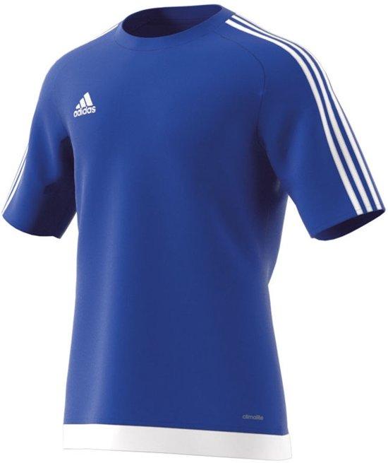 adidas Estro 15 Jersey - Sportshirt - Mannen - Maat L - Blauw