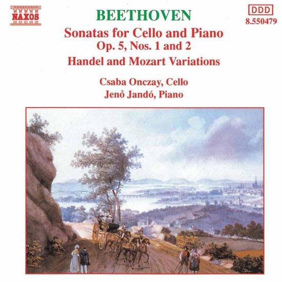 Beethoven: Cello Sonatas 1&2
