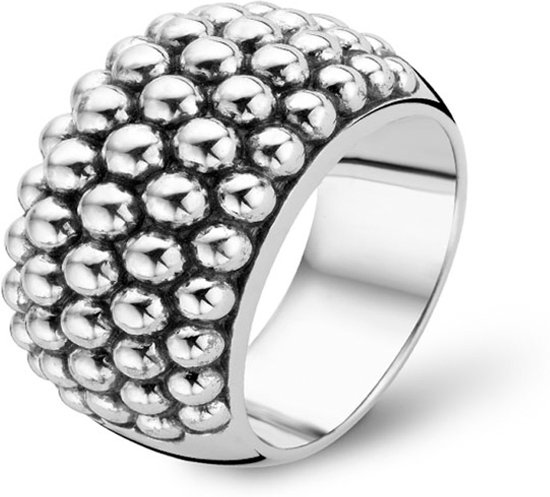 TI SENTO Milano Ring 1792SI - Maat 58 (18,5 mm) - Gerhodineerd Sterling Zilver