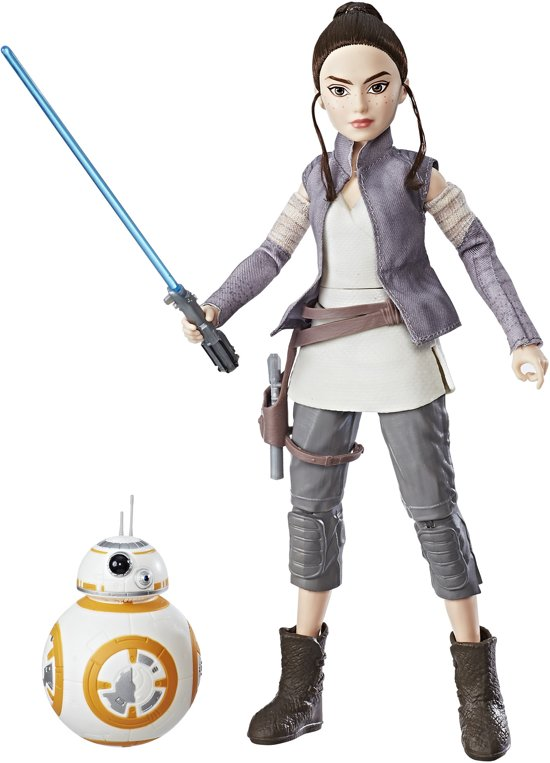 Star Wars Forces of Destiny Rey en BB-8 - 28 cm - Speelfiguur
