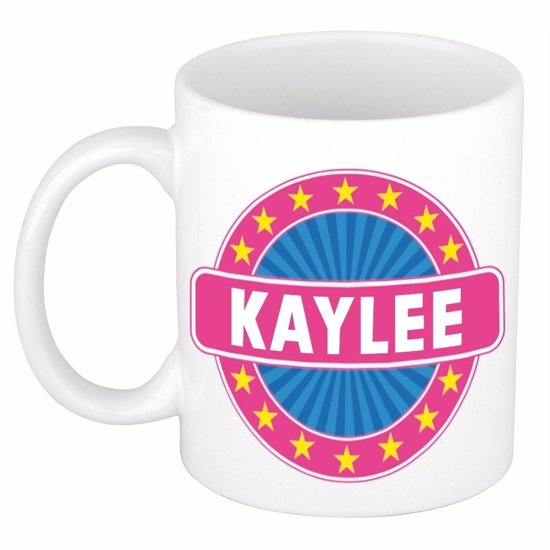 Kaylee naam koffie mok / beker 300 ml  - namen mokken