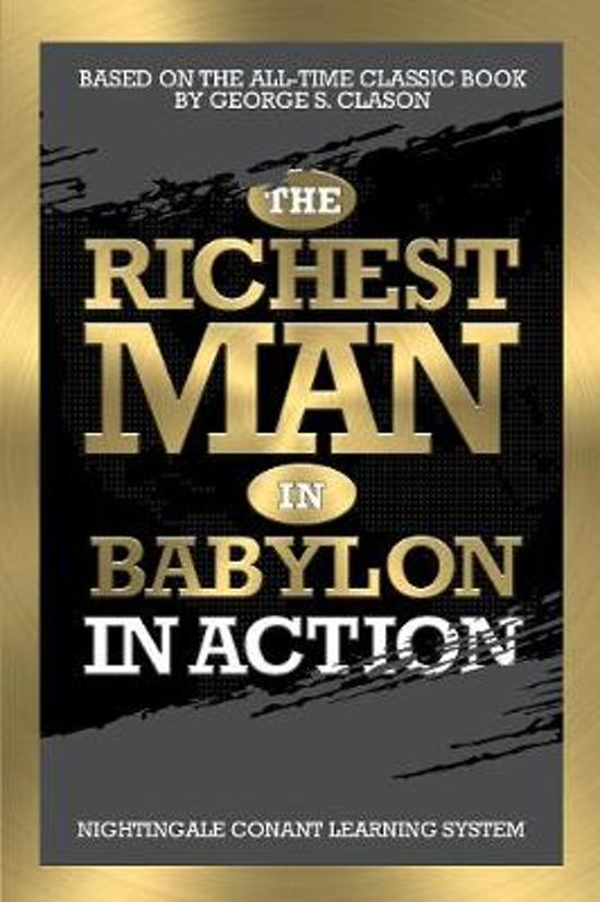 Boek cover The Richest Man in Babylon in Action van George S. Clason (Paperback)