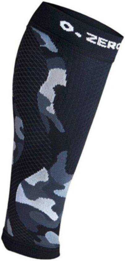 ZeroPoint compressie calf sleeves Camo-Zwart - S