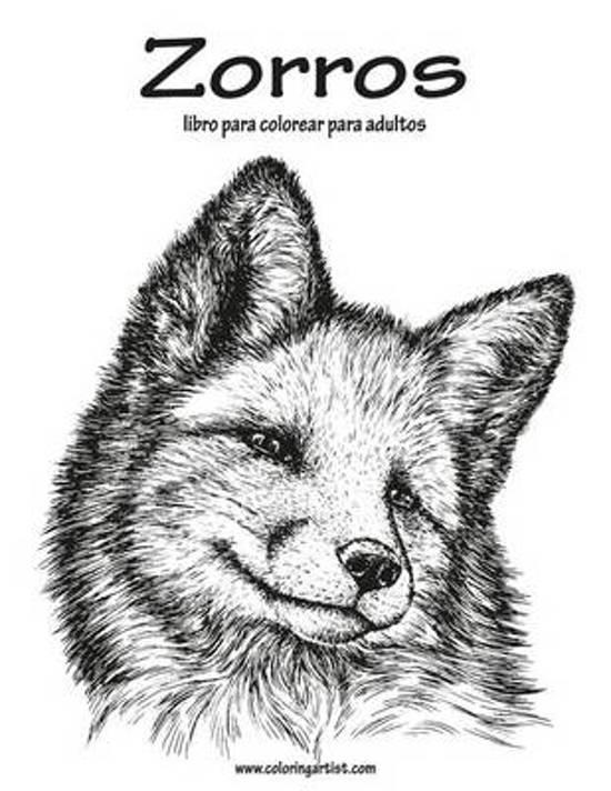 bol.com | Zorros Libro Para Colorear Para Adultos 1 | 9781532755408 ...