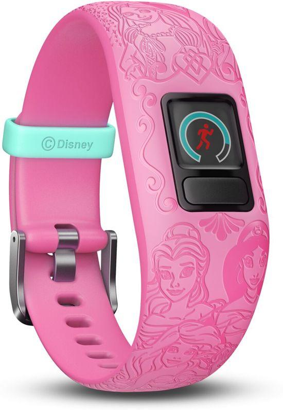 Garmin Vivofit Junior 2 - Activity Tracker voor Kinderen - Disney Princess® - Roze Verstelbaar bandje