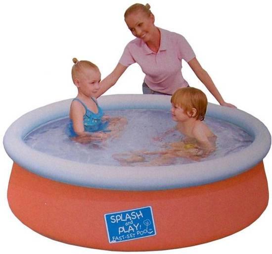 Bestway Fast Set Opblaasbaar Zwembad - 152x38 cm