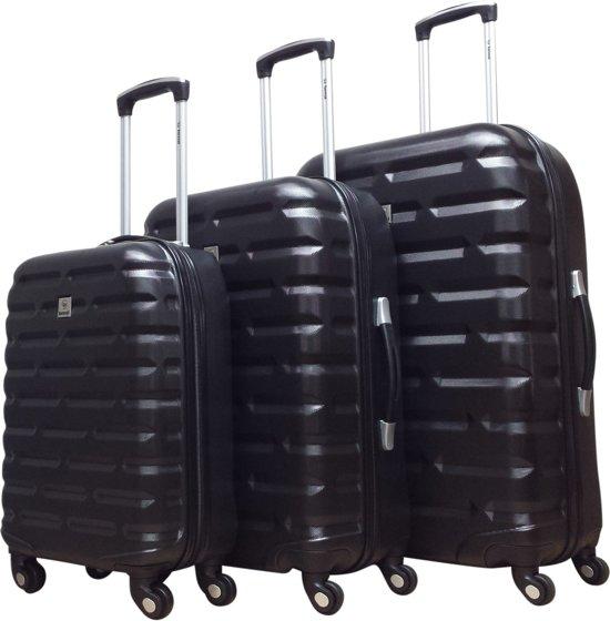 Benzi - kofferset - 3 delig - Bricks - zwart
