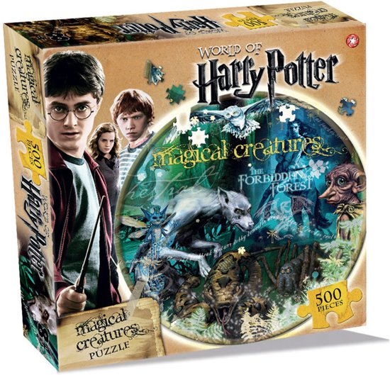 Harry Potter Magical Creatures Puzzel (500 stukjes)