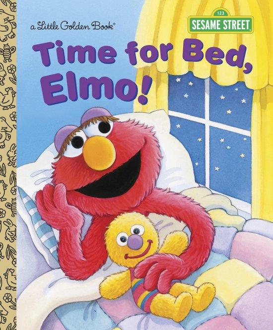 Boek cover LGB Time For Bed, Elmo! (Sesame Street) van Sarah Albee (Hardcover)
