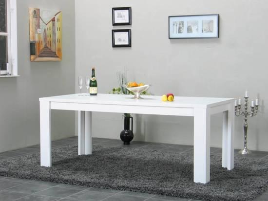 Design Salontafel Mat Wit.Bol Com Tvilum Tafel Mat Wit Kate 190x90 Cm