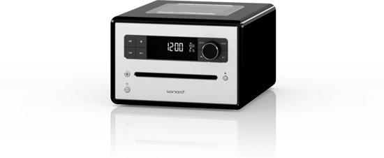 Sonoro CD-wekkerradio 220 - Zwart - Tafelradio
