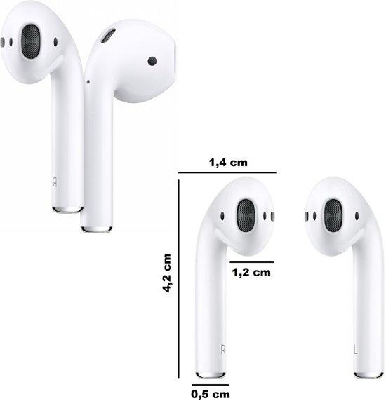 Adge MAXI80 - Draadloze oordopjes - Wit - Adge