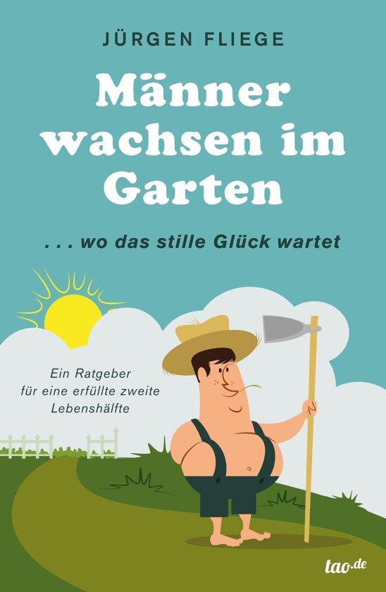 Männer wachsen im Garten