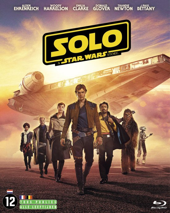 DVD cover van Solo: A Star Wars Story (Blu-ray)