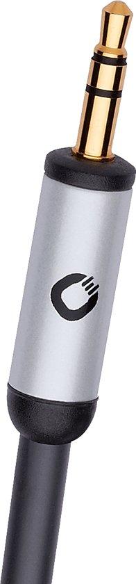 Oehlbach i-Connect J-35/R 1,5 meter Zwart