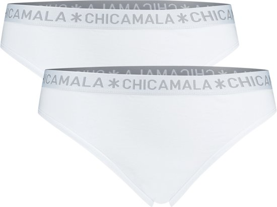 Chicamala - Dames String Wit/Wit - M