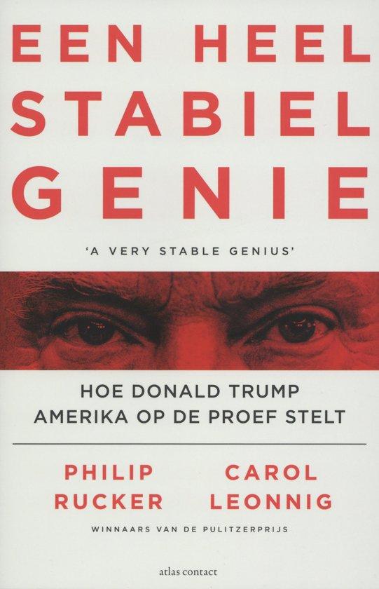 Boek cover Een heel stabiel genie van Philip Rucker (Paperback)