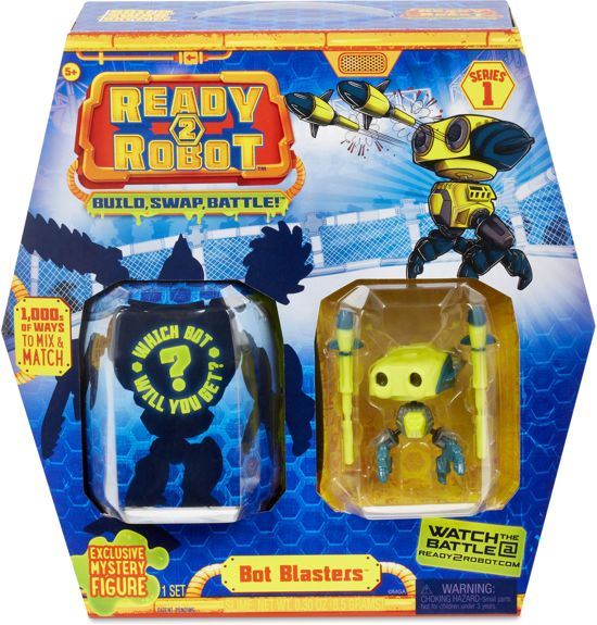 Ready2Robot Bot Blasters - Geel