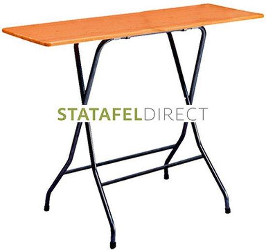 Statafel Met Houten Blad.Statafeldirect Nl Statafel Groot Houten Blad 160 X 60