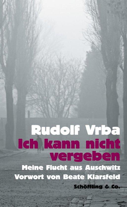 Boek cover Ich kann nicht vergeben van Rudolf Vrba (Onbekend)