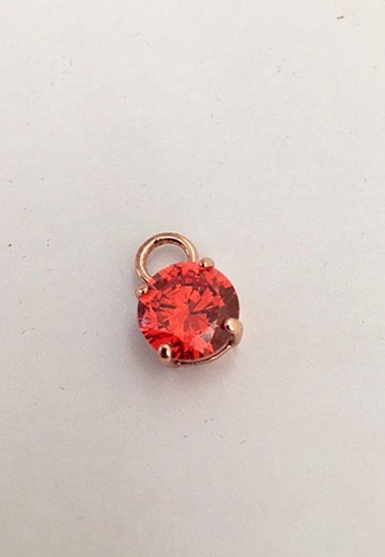 Rode Zirkonia Kristal Hanger voor rosé Sieraden