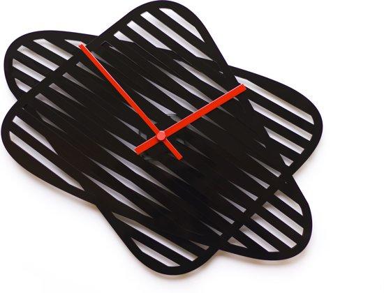 Layla Mehdi Pour sophie verstelbare wandklok - zwart
