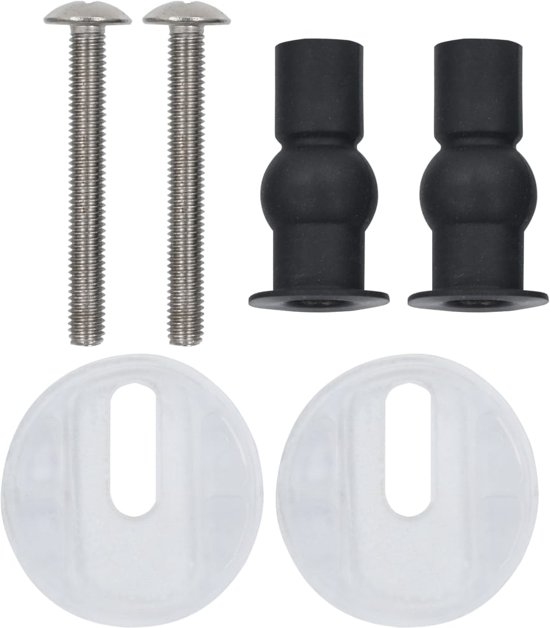 vidaXL Toiletbrillen 2 st met soft-close deksels MDF bamboeontwerp
