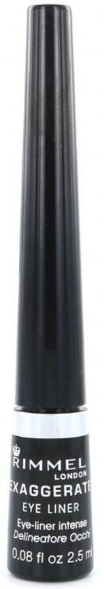 Rimmel London Exaggerate Eyeliner - 001 Black