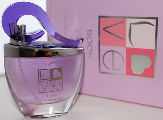 GRATIS 1+ 1 Love Book Vol II Dames Parfum ( U ontvangt GRATIS een  100 ml   Eau de Parfum bij bestelling van de Love Book )