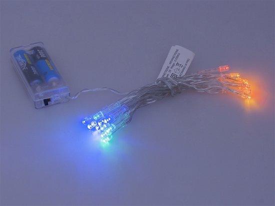 Feest- kerstverlichting RGB 20 LEDs 2,5 Meter