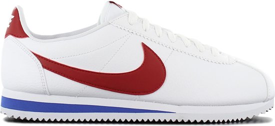 f961e83ef33 Nike Classic Cortez Leather 749571-154, Mannen, Wit, Sneakers maat: 42.5