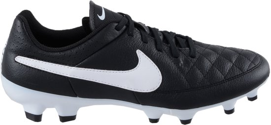 new products 7a2ee ac037 Nike Tiempo Genio Leather FG - Voetbalschoenen - Mannen - Maat 39 - Zwart
